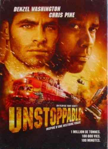 DVD unstopable tony scott 2011