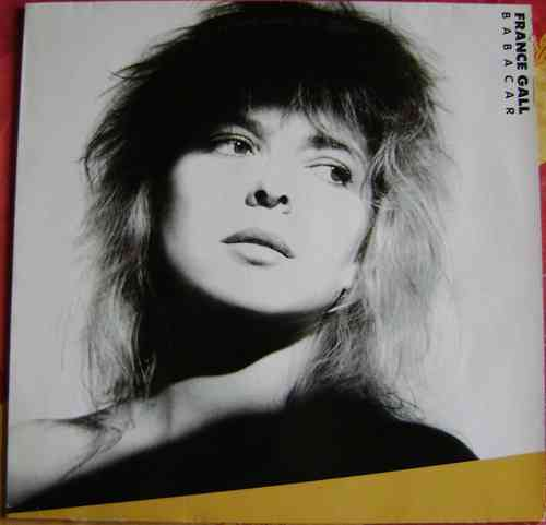 VINYL 33T france gall barbacar disques apache 1987