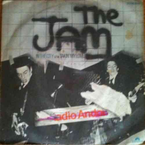 VINYL 45T the jam in the city tres rare