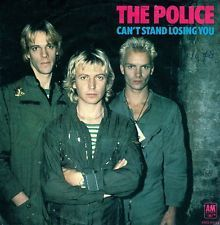 VINYL45T the police can't stand losing you 1978
