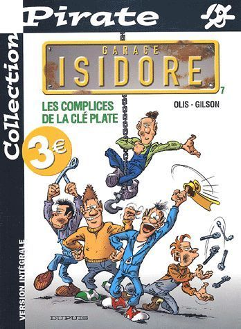 BD Pirate n 7 garage Isidore