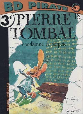 BD pirate pierre tombal n 18
