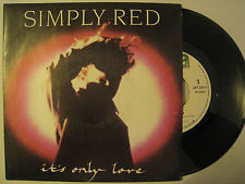 VINYL45T Simply red it's only love 1989