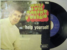 VINYL45T tom jones help yourself 1968