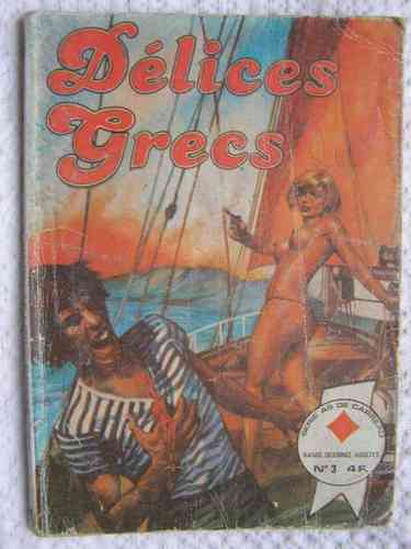 BD Délices grecs n 3 série as de carreau 1978