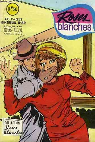 BD Roses blanches n 89 1968