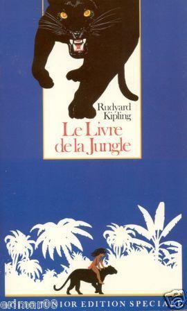 LIVRE Le livre de la jungle Rudyard kipling folio junior N°493