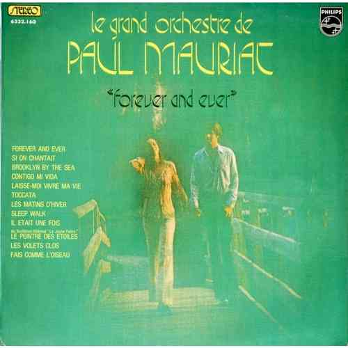 VINYL 33T paul mauriat forever and ever 1973