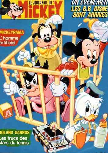 BD Le journal de mickey 1986 N°1769