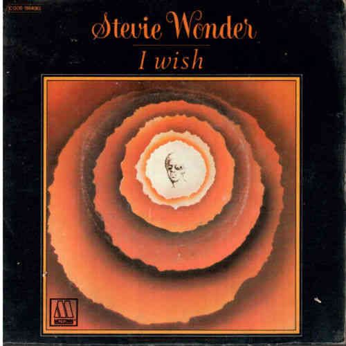 VINYL 45 t stevie wonder i wish /you and i 1976