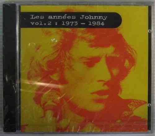 CD Johnny Hallyday les années Johnny vol 2