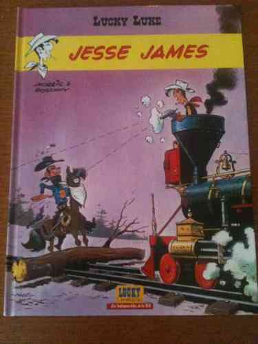 BD Lucky Luke jesse james n°4 2002