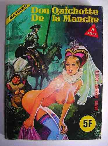 BD Elvifrance don quichotte de la mancha satire