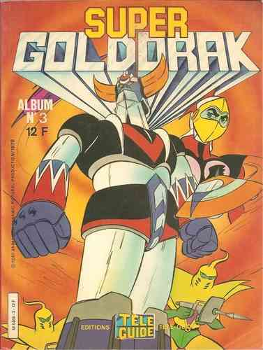 BD super goldorak album N°3
