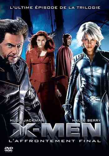 DVD X-MEN l'affrontement final Brett Ratner 2006