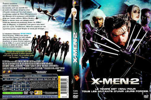 DVD X-MEN 2 Marvel 2008