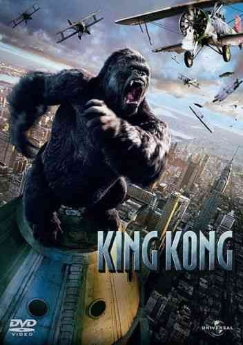 DVD king kong Peter Jackson 2005