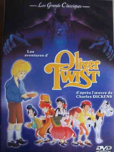 DVD Les aventures d' Oliver twist 2003 Animation, Studio