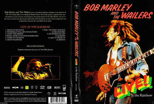 DVD bob marley and the wailers 2004