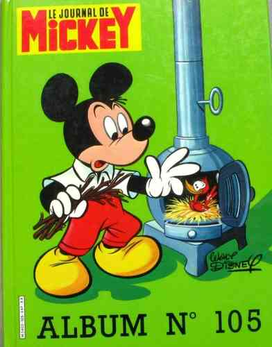 BD album journal de Mickey n 105