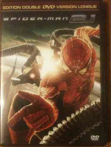 DOUBLE DVD spiderman 2.1  version longue