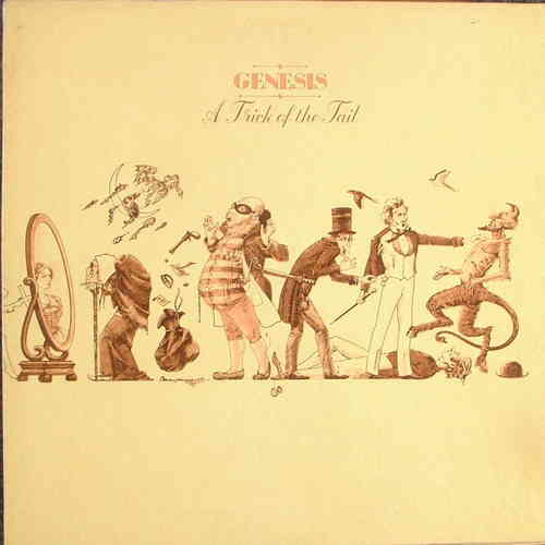 VINYL 33 T genesis a trick of the tail 1975