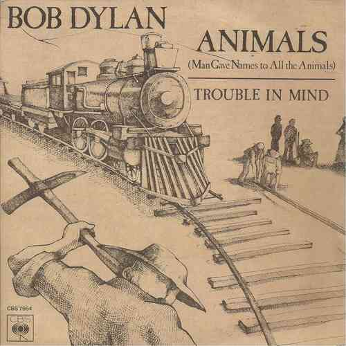 VINYL45T bob dylan animals 1979