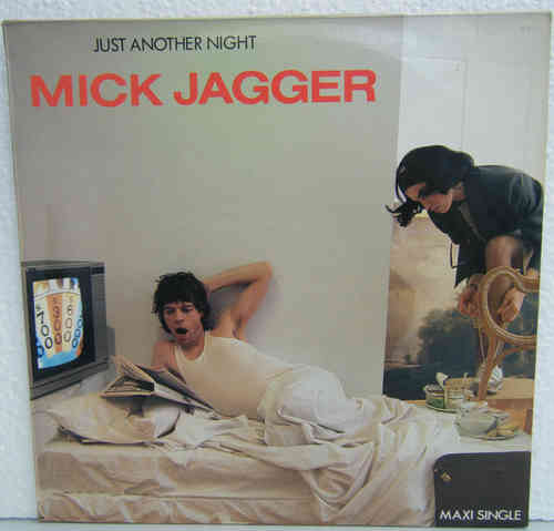 VINYL 45T mick jagger just another night 1985