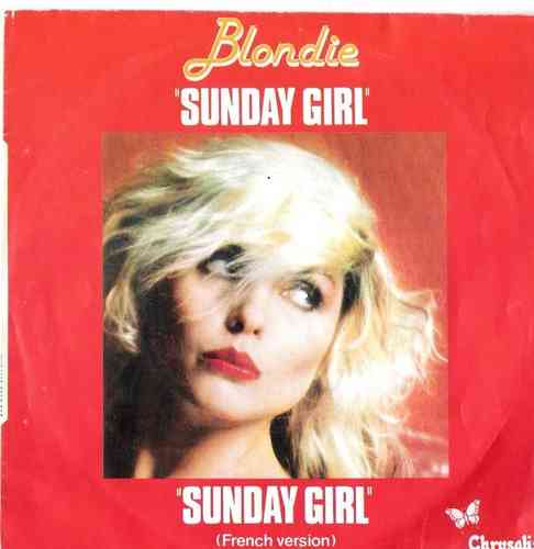 VINYL45T blondie sunday girl 1978