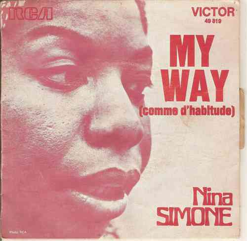 VINYL 45 T Nina Simone my way 1971