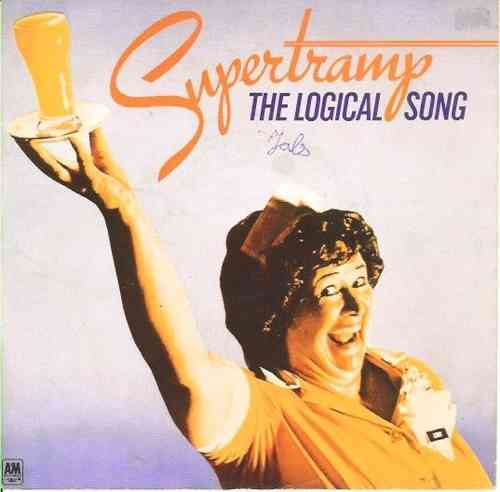 VINYL45T supertramp the logical song