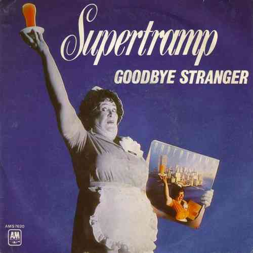 VINYL45T supertramp goodbye stranger