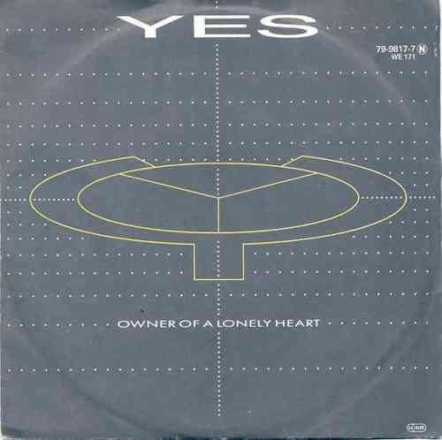VINYL45T yes owner of lonely heart 1983