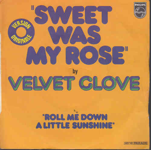 VINYL45T velvet close sweet was my rose 1974