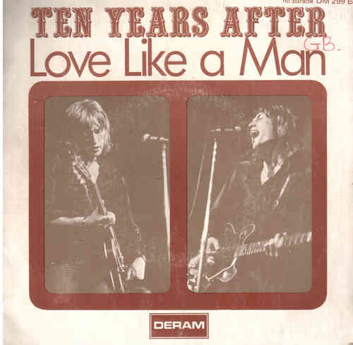VINYL45T ten years after love like man 1970