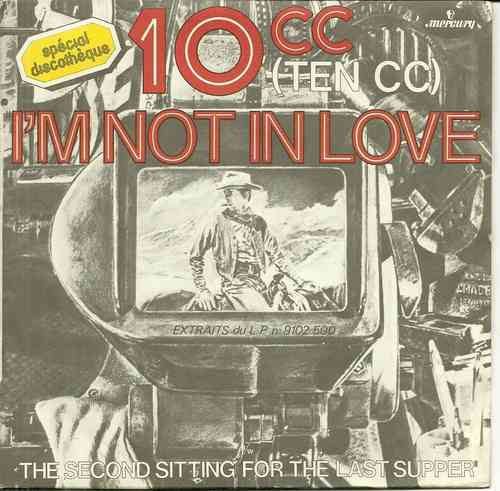 VINYL45T ten cc i'm not in love
