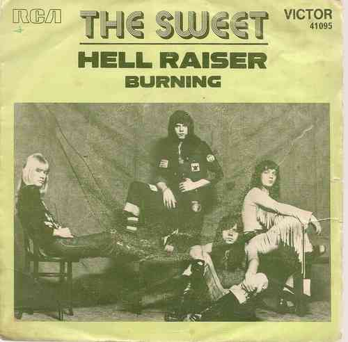 VINYL 45 T the sweet hell raiser 1973