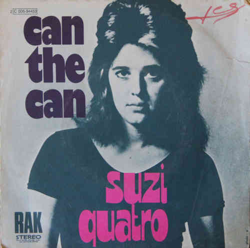 VINYL 45 T suzi quatro can the can  1973