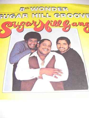 VINYL45T sugar hill gang sugar hill groove 1980