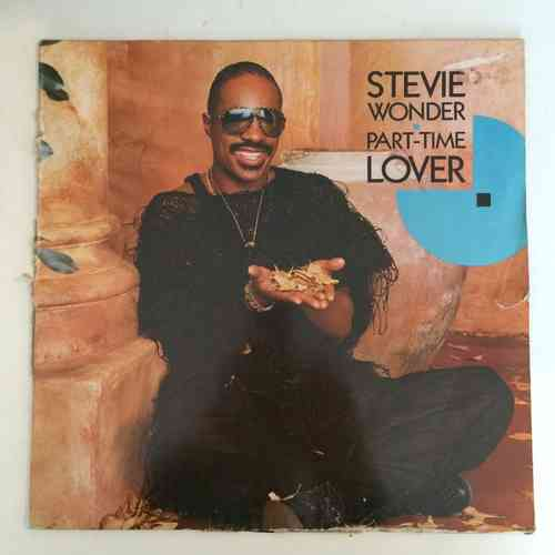 VINYL45T stevie wonder part time lover 1985