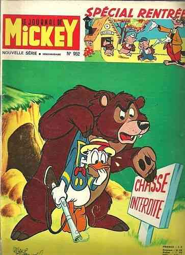 BD le journal de Mickey 1970 N°952