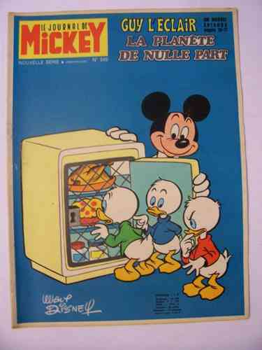 BD le journal de Mickey 1970 N°949