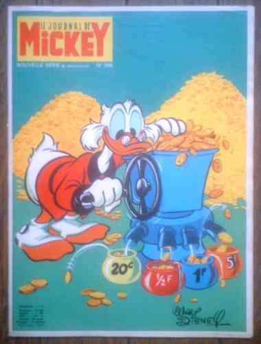 BD le journal de Mickey 1970 N° 946