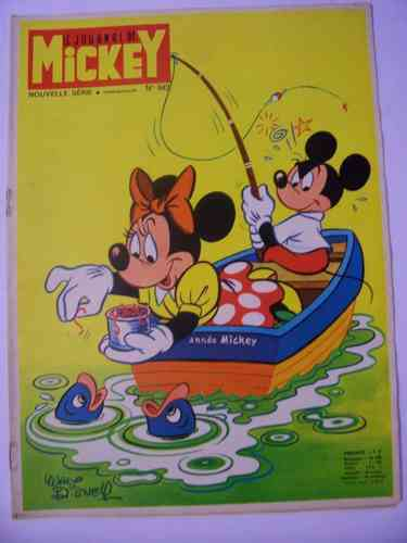 BD le journal de Mickey 1970 N° 942