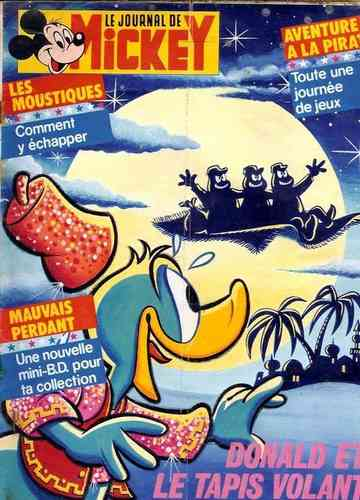 BD le journal de Mickey n°1778-1986