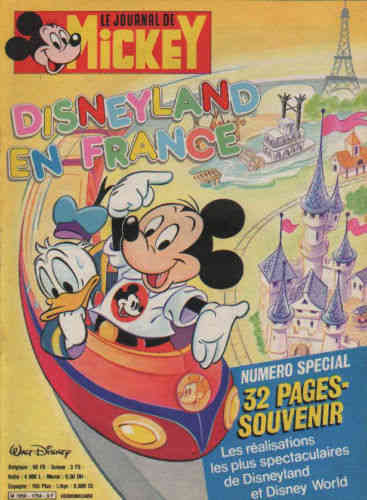 BD le journal de Mickey n°1754-1986