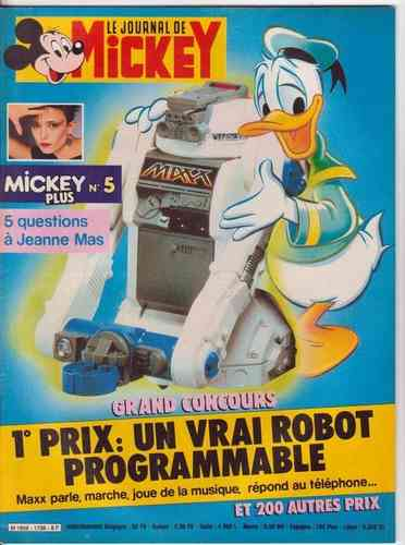 BD le journal de Mickey n°1738-1985