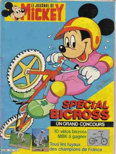 BD le journal de Mickey n°1728-1985
