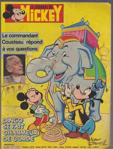 BD le journal de Mickey n°1721-1985
