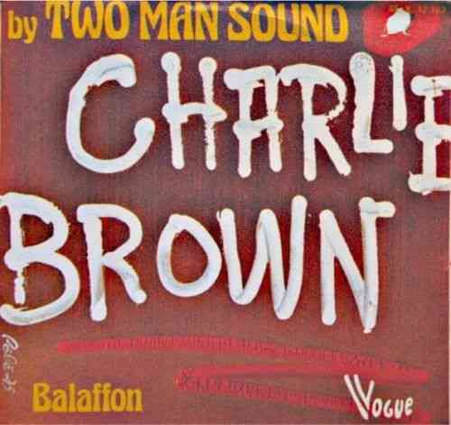 VINYL45T two man sound charlie brown 1975